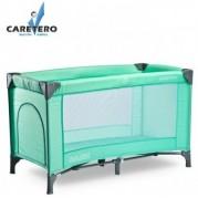 Cestovná postieľka Caretero BASIC 2016, green