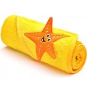 Osuška Sensillo 3D Zvieratká, 75x75cm/yellow