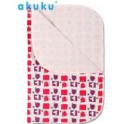 Prebaľovacia podložka AKUKU/fialová, 55x70cm