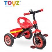 Detská trojkolka Toyz Charlie, red