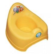 Hrajúci detský nočník TEGA Safari, žltý