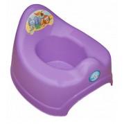 Hrajúci detský nočník TEGA Safari, fialový