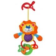 Plyšová hračka s hrkálkou Baby Mix, levík