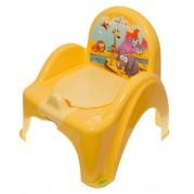 Detský nočník s poklopom Safari, žltý