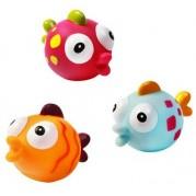 Hračky do vane Baby Ono Fish, 3ks