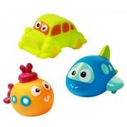 Hračky do vane Baby Ono Transport, 3ks
