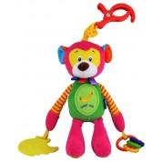 Plyšová hračka s pískatkom Baby Mix, opička