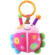 Plyšová hračka s vibráciou Baby Mix, lienka