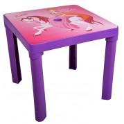 Detský plastový stôl, Luna fialový