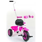 Detská trojkolka Milly Mally Boby TURBO, pink