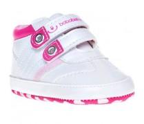 Detské topánočky Bobo Baby, bielo-ružové