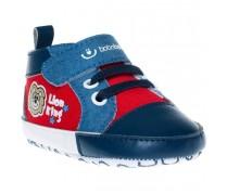 Detské capačky Bobo Baby Lion, červeno-modré
