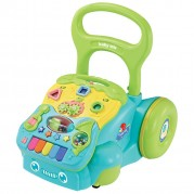 Edukačné, hrajúce chodítko Baby Mix, modro-zelené