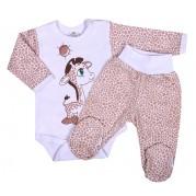 Dojčenská súprava New Baby Giraffe, bežová