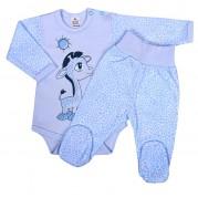 Dojčenská súprava New Baby Giraffe, modrá