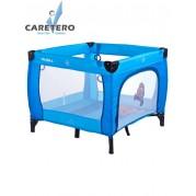 Detská skladacia ohrádka CARETERO Quadra, modrá