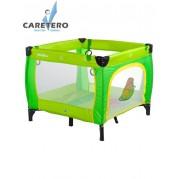 Detská skladacia ohrádka CARETERO Quadra, zelená