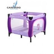 Detská skladacia ohrádka CARETERO Quadra, fialová